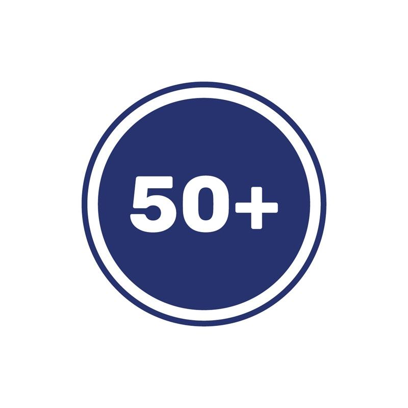 50 plus